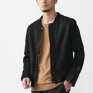 シャマ(shama)のシャマ ゴートレザーブルゾン 中古 サイズ42(XL) ブラック(ライダースジャケット)