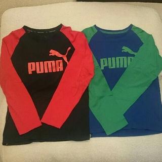 プーマ(PUMA)のPUMA 150㎝ 長袖Tシャツ 2枚セット(Tシャツ/カットソー)