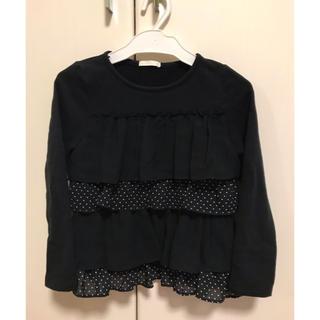 ジーユー(GU)のGU 女の子 トレーナー 120センチ(Tシャツ/カットソー)