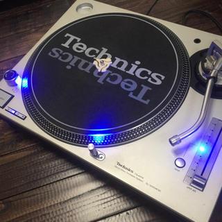 Technics LEDカスタムmk3dとmk5の2台セット針付き(ターンテーブル)