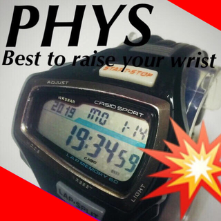 🔷【PHYS】ザ・フューチャーソニックスペック☆‼️(腕時計(デジタル))
