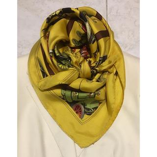 エルメス(Hermes)の車好きさんへ エルメス スカーフ カレ90(バンダナ/スカーフ)