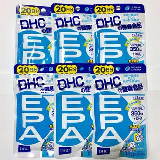ディーエイチシー(DHC)のDHC EPA 20日分×6袋(その他)