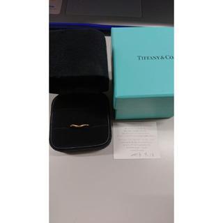 ティファニー(Tiffany & Co.)の試着のみペレッティ カーブトバンド13号2mm(リング(指輪))