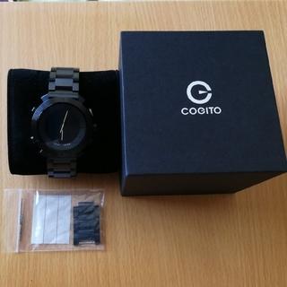 COGITO CLASSIC METAL CW2-11 黒 スマートウォッチ(腕時計(デジタル))