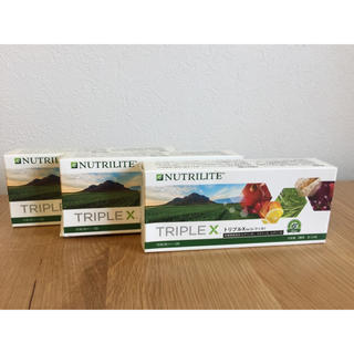 アムウェイ(Amway)のアムウェイ トリプルX 旧製品 3個セット(ビタミン)