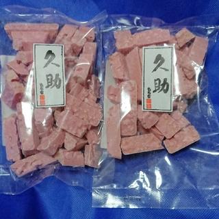 もち吉 久助 2袋  いちごクランチ(菓子/デザート)