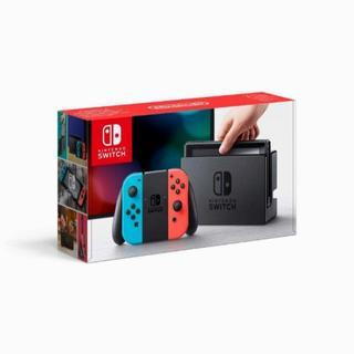 ニンテンドースイッチ(Nintendo Switch)の【新品】任天堂 Nintendo Switch ネオンブルー ネオンレッド(家庭用ゲーム本体)