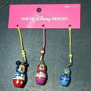 ディズニー(Disney)のディズニーリゾート マトリョーシカストラップ(ストラップ/イヤホンジャック)