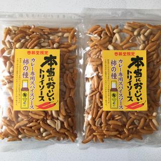 カメダセイカ(亀田製菓)の本当においしいトリイソース柿の種 2袋(菓子/デザート)
