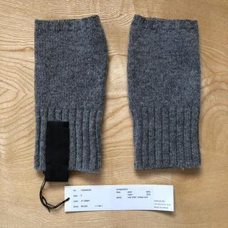 パトリックステファン(PATRICK STEPHAN)の新品未使用タグ付き パトリックステファン アームカバーグレー 9000円+税(手袋)