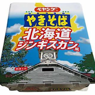 ペヤング やきそば 北海道 ジンギスカン風 18個(インスタント食品)