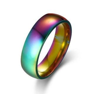 レインボーメタルリング 単品(リング(指輪))