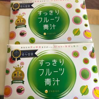 スッキリフルーツ青汁 30包 ×2(青汁/ケール加工食品 )