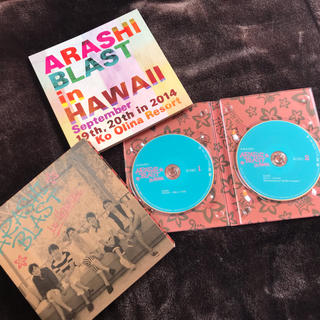 アラシ(嵐)の嵐 Blast in Hawaii 初回限定版(アイドルグッズ)
