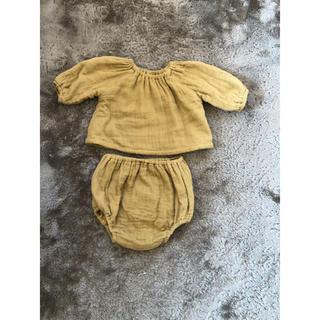 キャラメルベビー&チャイルド(Caramel baby&child )のyoli&otis セットアップ 0〜3m(その他)