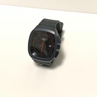 アディダス(adidas)のadidas アディダス 腕時計 紺色 メンズ オシャレ かわいい 軽い(腕時計(アナログ))
