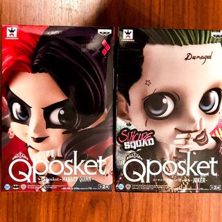 Disney - スーサイド スクワッド qposket フィギュア 2種セット ジョーカー&クイ