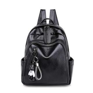 ❤新品送料無料❤高品質 レディースバッグ リュック ブラック(リュック/バックパック)