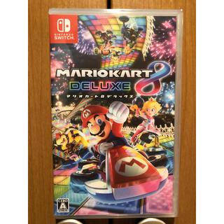 ニンテンドースイッチ(Nintendo Switch)の【新品】マリオカート8 デラックス(家庭用ゲームソフト)