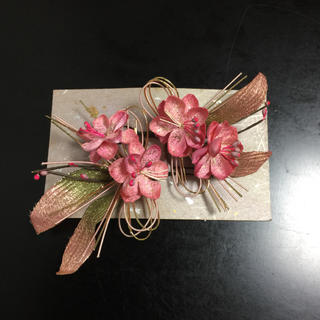 桜花髪飾り(和装小物)