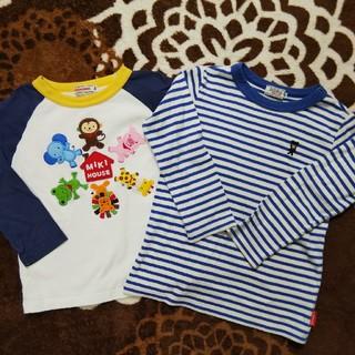 ダブルビー(DOUBLE.B)の★ミキハウス DOUBLE.B 長袖Tシャツ2枚セット♪ 100 ★(Tシャツ/カットソー)