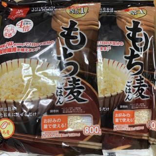 はくばく もち麦 ごはん ぷちぷち食感 大麦  800g×2袋 ②(米/穀物)