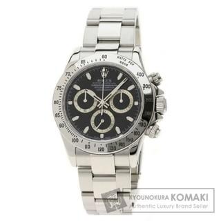 中古ROLEX  コスモグラフ デイトナ 腕時計 ステンレススチール メンズ(腕時計(アナログ))