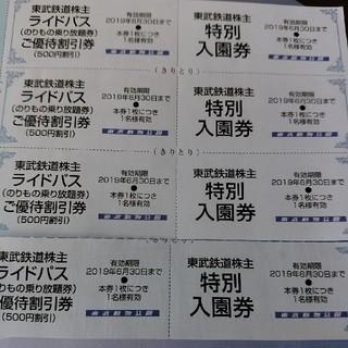 ※☆※ともぴ様専用☆☆東武動物公園入園券1枚(動物園)