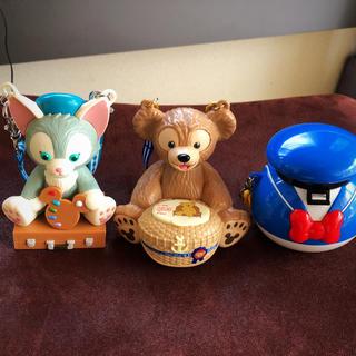 Disney - ダッフィー、ジェラトーニ、ドナルド、グミケース