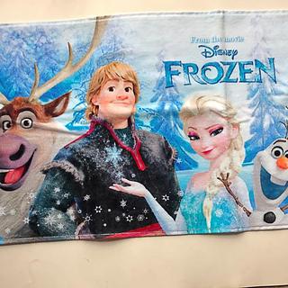Disney - アナと雪の女王 フェイスタオル