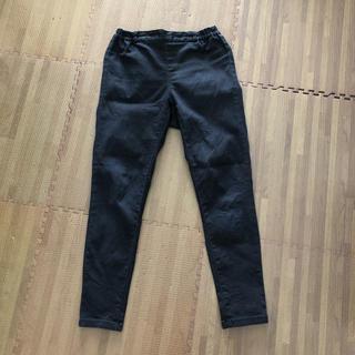 ジーユー(GU)のGU パンツ レギンス 黒 ブラック サイズS(レギンス/スパッツ)