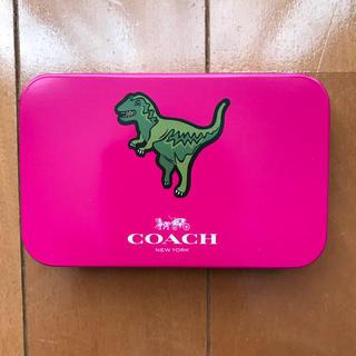 COACH - COACH コーチ 缶ケース付き メモ