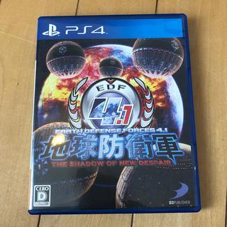 プレイステーション4(PlayStation4)の地球防衛軍 4.1 中古(家庭用ゲームソフト)