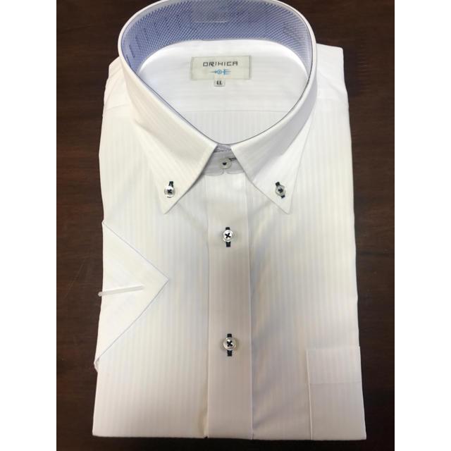 ORIHICA(オリヒカ)のORIHICA 半袖 ワイシャツ LL メンズのスーツ(その他)の商品写真