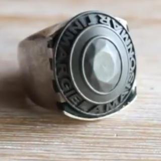 マルタンマルジェラ(Maison Martin Margiela)の【求】Maison Martin Margiela カレッジリング (リング(指輪))