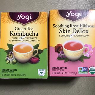 yogi tea  Green Tea Kombucha(茶)