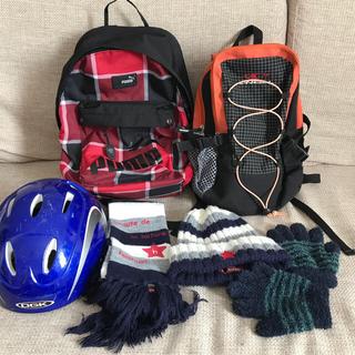 プーマ(PUMA)のPUMA&O'NEILL リュック ヘルメット マフラー&ニット帽&手袋set(リュックサック)
