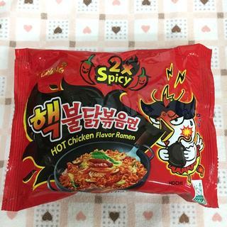 6袋 ヘク(超)ブルダックポックムミョン 韓国 激辛い『三養サムヤン』シーリズ(麺類)