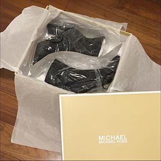 マイケルコース(Michael Kors)の新品 マイケルコース ショートブーツ  ブーティー  ブーツ(ブーツ)