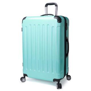 小型軽量スーツケース 8輪キャスター TSAロック付き Sサイズ ミント