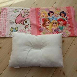 ディズニー(Disney)の子供用まくら カバー2枚付き(枕)