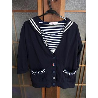 シマムラ(しまむら)のセーラートップスTシャツ セット(Tシャツ(半袖/袖なし))