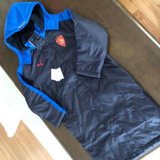 プーマ(PUMA)のプーマ  ベンチコート 130 (ジャケット/上着)