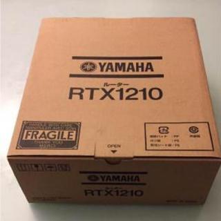 ヤマハ(ヤマハ)のヤマハ RTX1210 新品未使用未開封 送料無料 2台(PC周辺機器)