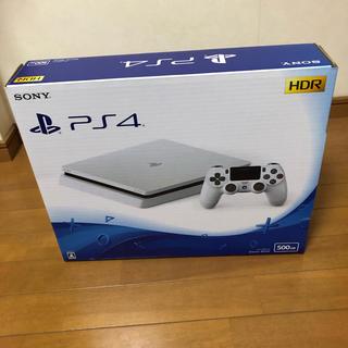 プレイステーション4(PlayStation4)のPS4 本体 白 コントローラー有り(家庭用ゲーム本体)