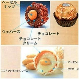リンツ(Lindt)のラスト⭐⭐高級チョコレートフェレロ ロシェ&ラファエロ(菓子/デザート)