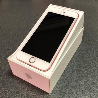 アップル(Apple)のiPhone6s 希少64GB ローズゴールド SIMフリー(スマートフォン本体)