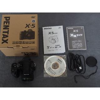 ペンタックス(PENTAX)のPENTAX X-5 (ブラック)(コンパクトデジタルカメラ)