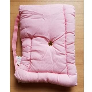 防災頭巾 ピンク Sサイズ(防災関連グッズ)